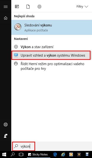 Jak zrychlit Windows 10 - optimalizace windows 10 - výkon systému