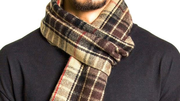 How to tie a men's scarf - Top 7