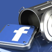 ak smazat účet na Facebooku