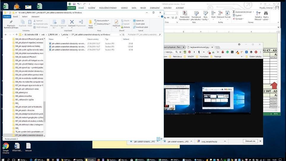Jak udělat screenshot obrazovky ve Windows