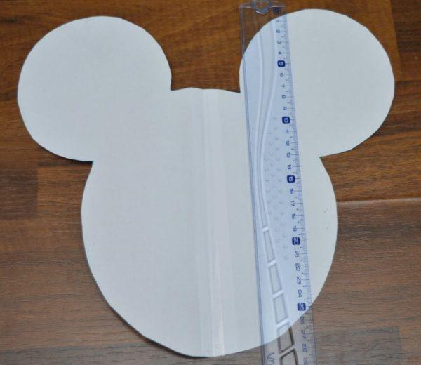 Jak ušít polštářek Mickey Mouse