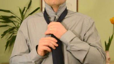Jak uvázat kravatu - Poloviční Windsor uzel