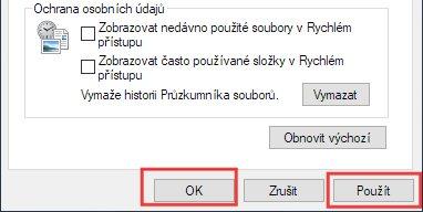 Jak skrýt poslední soubory v průzkumníku Windows