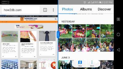 Jak na androidu rozdělit obrazovku na dvě okna - aktivace multitaskingu