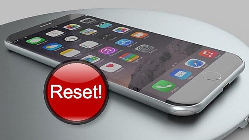 Jak resetovat iPhone 8