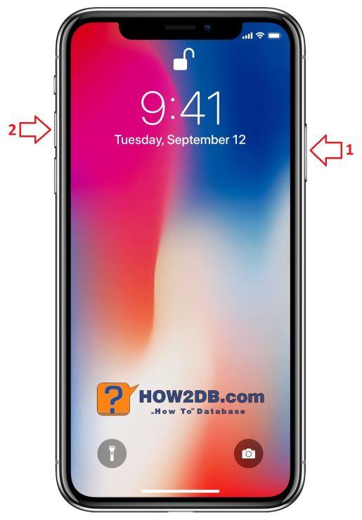 Jak udělat screenshot obrazovky na iPhone X