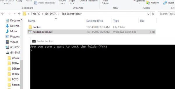 Jak zaheslovat složku ve Windows 10
