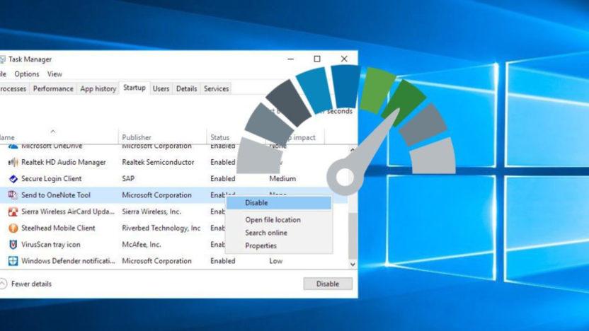 Jak zakázat spouštění programů po startu Windows 10