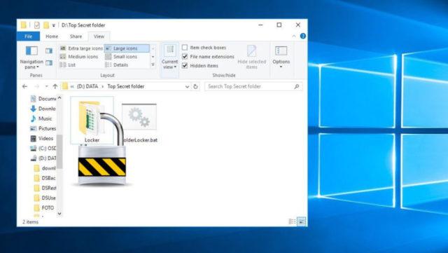 Jak zaheslovat soubory a složky ve Windows 10 pomocí programu