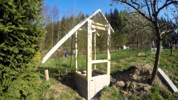 Jak postavit udírnu - konstrukce boudy