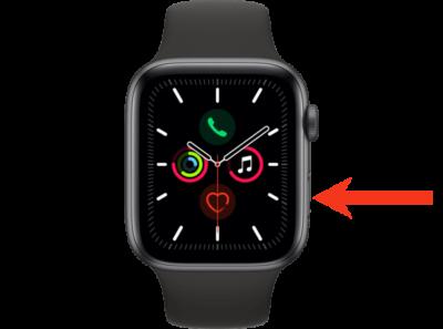 jak restartovat apple watch 1