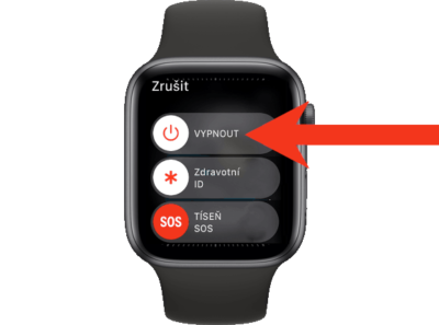 jak restartovat apple watch 2