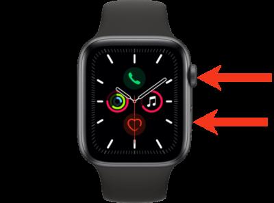 jak restartovat apple watch 3