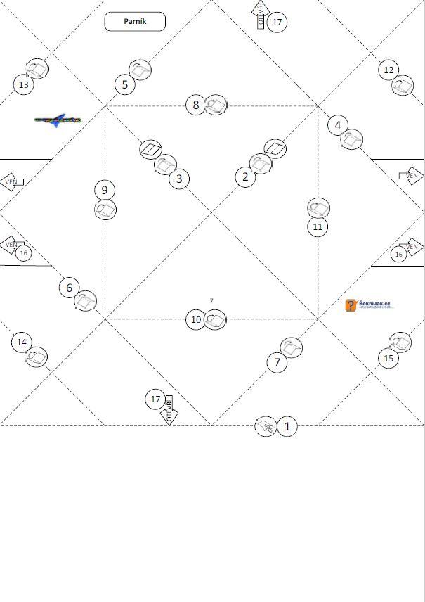papírový parník - origami skládací vzor - náhled