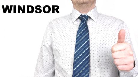 Jak se váže kravata - Windsor uzel