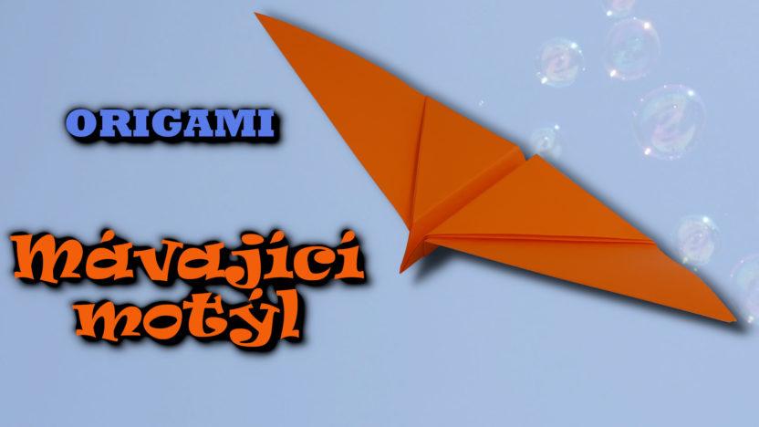 Origami mávající motýl - jak vyrobit motýla z papíru