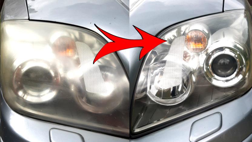 Jak Vyčistit Světla u Auta | Trvalá Renovace Světlometů