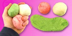 Jak vyrobit modelínu z mouky a soli - DIY Play-Doh