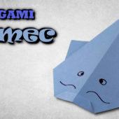 Origami sumec | jak vyrobit sumce z papíru