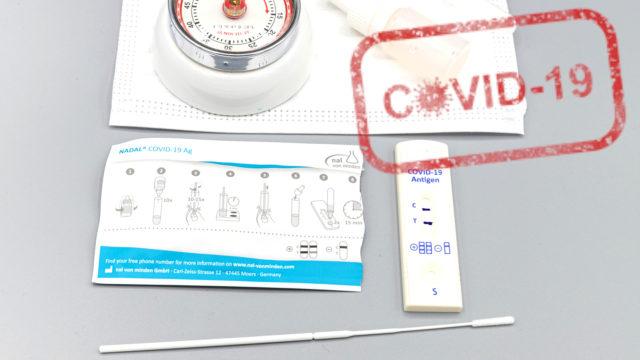 Jak a kde se objednat na antigenní test na Covid19