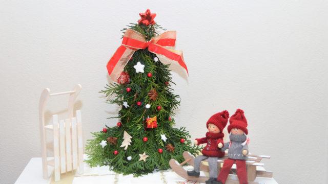 Vánoční dekorace - Stromeček z větví tůje